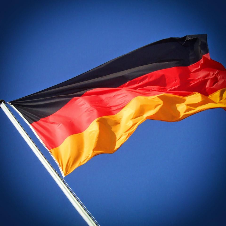ISPU-WM Fahne von Deutschland